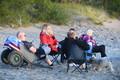 Night of ancient bonfires celebrated on Narva-Jõesuu beach.