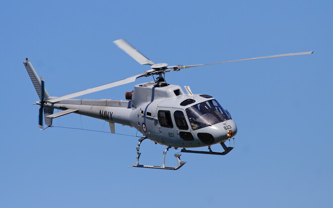 Airbus AS350 helikopter