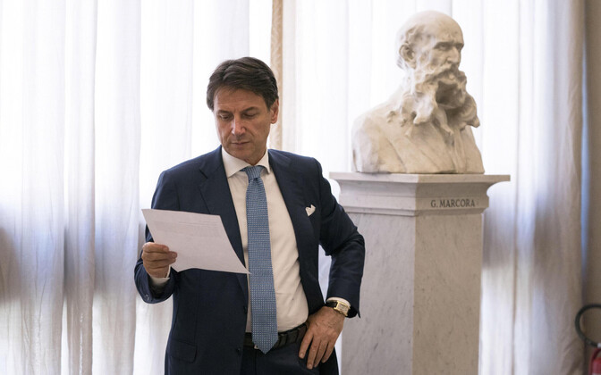 Itaalia peaministri kohusetäitja Giuseppe Conte.