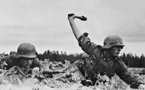 Teine maailmasõda. Saksa väed venemaal 1941. aastal.