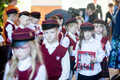 Esimene koolipäev Jakob Westholmi gümnaasiumis