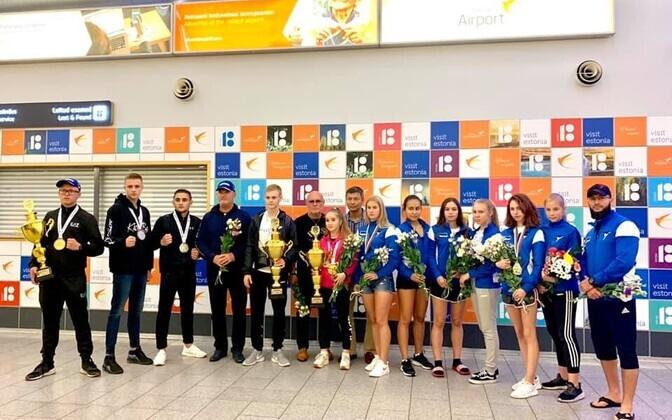 Esmaspäeva öösel naasis Eesti võistkond kodumaale Bulgaarias Provdivis 23.–31. augustil toimuvatelt XXI taekwondo maailmameistrivõistlustelt.