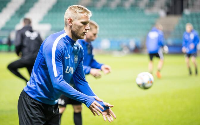Ближайшие матчи сборная Эстонии по футболу проведет без Атса Пурье.