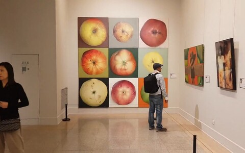Kamille Saabre maalisari valiti Pekingi rahvusvahelisele kunstibiennaalile