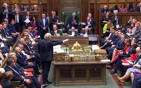 Заседание в нижней палате британского парламента, 3 сентября.
