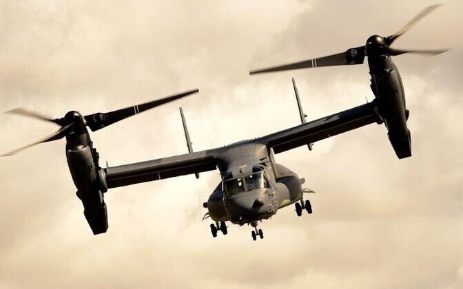Kopterlennuk CV-22 Osprey.