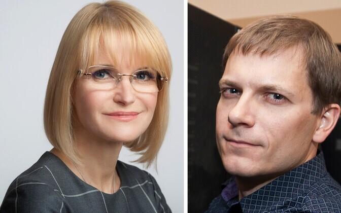 Ruth Oltjer ja Andi Hektor