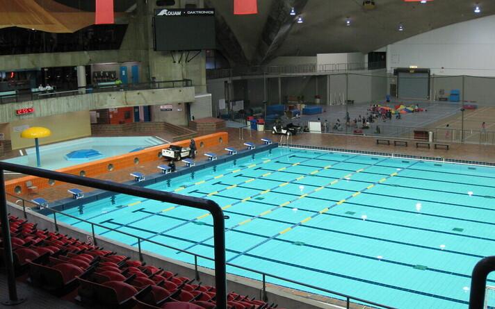 Олимпийский бассейн в Монреале. Иллюстративная фотография.