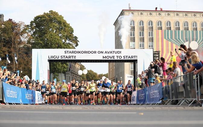 Таллиннский марафон станет испытанием не только для бегунов, но и участников дорожного движения.