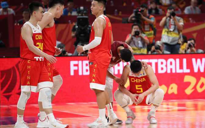 Hiina korvpallikoondis