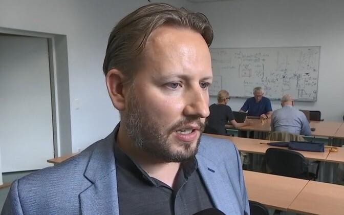 KBFI senior researcher Mario Kadastik.