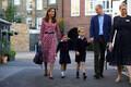 Принцесса Шарлотта пошла в школу.