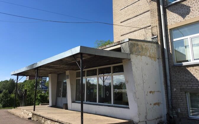 Ваналиннаская школа в Силламяэ.
