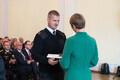 Päästeteenistuse aumärkide üleandmine