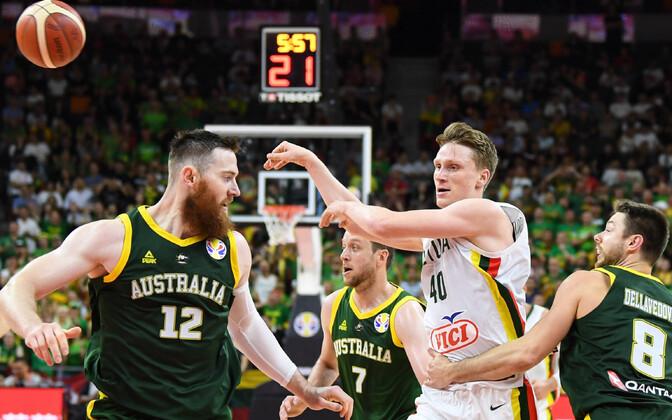 Leedu alistus korvpalli MM-il Austraaliale