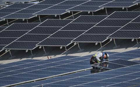 Solar panels (photo is illustrative).