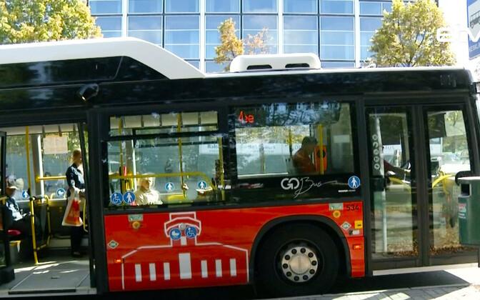 Автобус в Тарту.