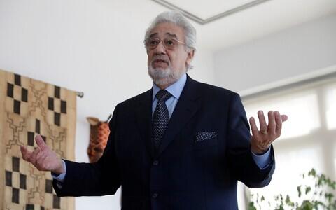 Ooperilaulja Placido Domingo 2018. aasta mais.