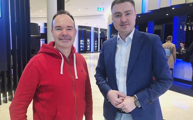 Peter Vesterbacka ja Taavi Rõivas Tallinnas.