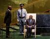 Robert Mugabe ootamas kõnejärjekorda ÜRO peaassambleel 2011.