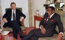 Robert Mugabe ja Tony BlairI kohtumine Edinburghis 1997.