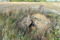 Провал земли в Кукрузе.