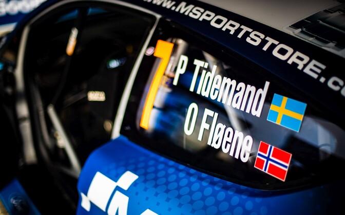 Pontus Tidemand saab kahel järjestikusel etapil M-Spordi Fordiga sõita.