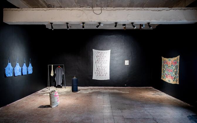 """Killu Sukmiti näitus """"K aed"""""""