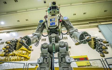 Робот в будущем может быть использован для работы в открытом космосе.