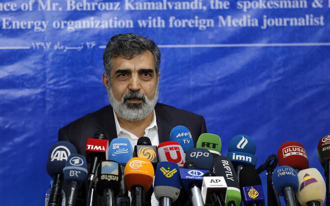 Iraani aatomienergiaorganisatsiooni pressiesindaja Behrouz Kamalvandi.