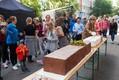Uue Maailma festivali külastajad sõid ära 130 kilogrammi kaaluva ning 1,5 meetrit pika rekordkohukese.