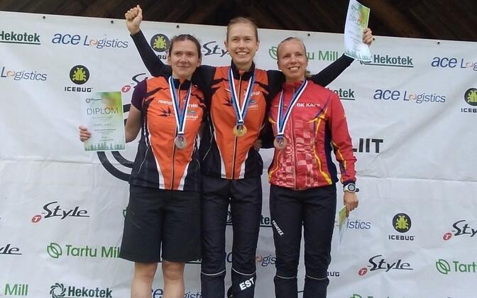Eleri Hirv, Kerstin Uiboupin, ja Margret Zimmermann