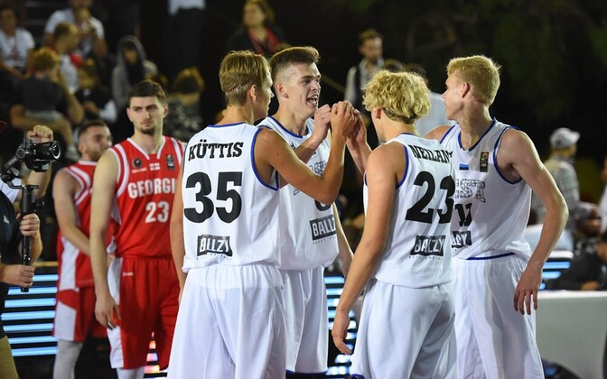 Eesti 3x3 U-18 korvpallikoondis
