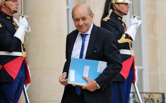 Prantsuse välisminister Jean-Yves Le Drian