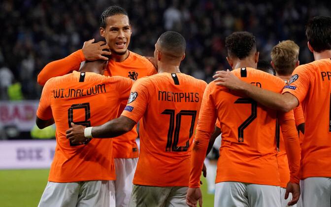 Hollandi jalgpallikoondislased