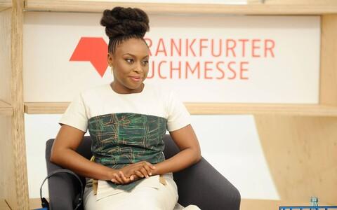 Kirjanik Chimamanda Ngozi Adichie.