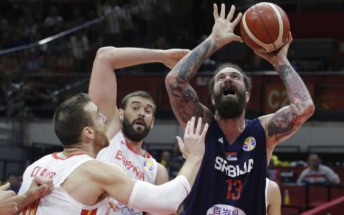 Korvpalli MM: Hispaania - Serbia