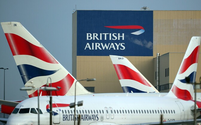 British Airwaysi lennukid Heathrow lennujaamas Londonis.