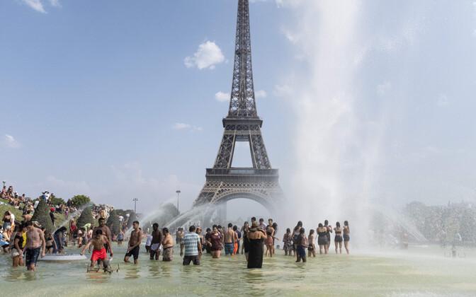 Во Франции летом был побит температурный рекорд.