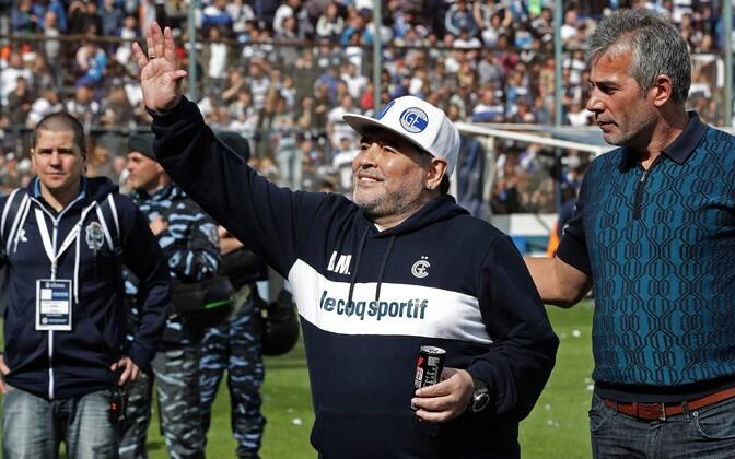 Diego Maradona La Platas