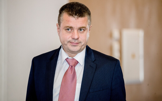 Minister of Foreign Affairs Urmas Reinsalu (Isamaa).