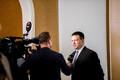 Riigikogu sügisistungjärgu avaistung, Jüri Ratas annab intervjuud Marko Reikopile.