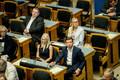 Riigikogu sügisistungjärgu avaistung: esiplaanil Siret Kotka-Repinski ja Martin Repinski Keskerakonnast