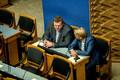 Riigikogu sügisistungjärgu avaistung: Kaido Höövelson ja Jaanus Karilaid