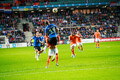 Estonia v Netherlands Group C European Championships qualifier on Monday, 9 September.