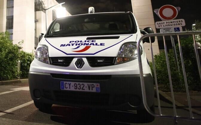 Французская полиция.