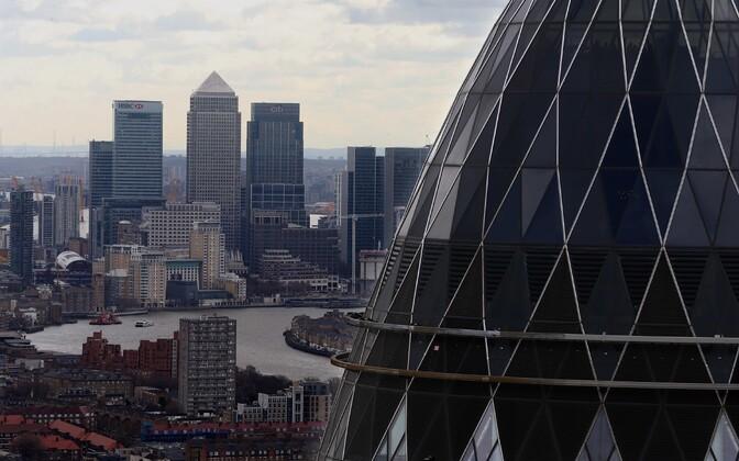 Londoni finantskeskus City.