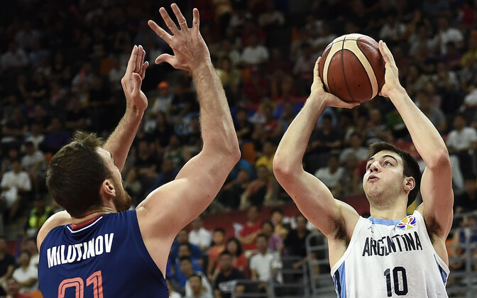 Korvpalli MM: Argentina - Serbia