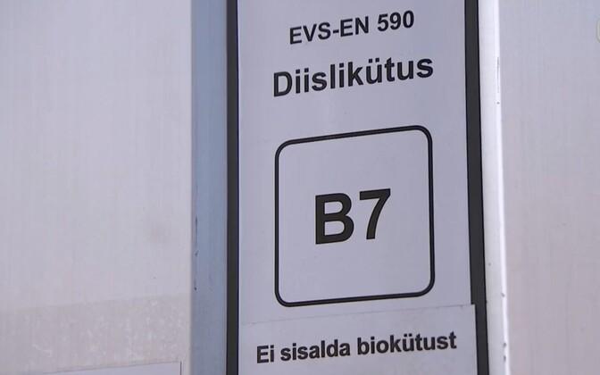 Diesel fuel.