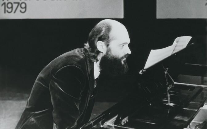 Helilooja Arvo Pärt, saade Kontsertstuudio. 1979